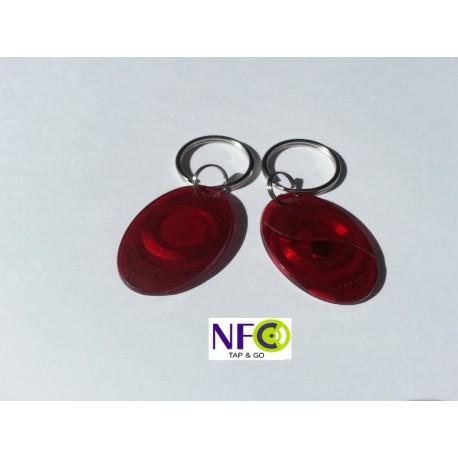 NFC Võtmehoidja värviline läbipaistev