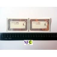 Nfc märgis Ultralight 49x81mm läbipaistev